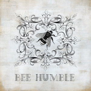 Bee Humble Canvas Art