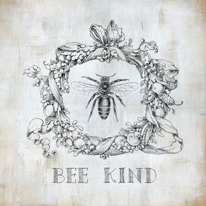 Bee Kind Canvas Art