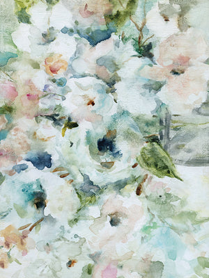 Blooming Softly Canvas Art