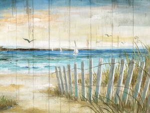 Coastal Causeway Canvas Art