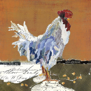 Country Rooster I Canvas Prints