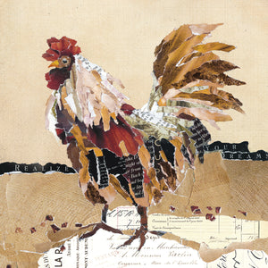 Country Rooster II Canvas Art