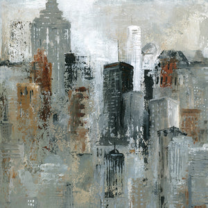 Lights of the City I Canvas Art