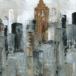 Lights of the City II Canvas Art