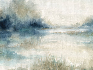 Still Evening Waters II Canvas Art