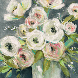 Summer Ranunculus Canvas Art