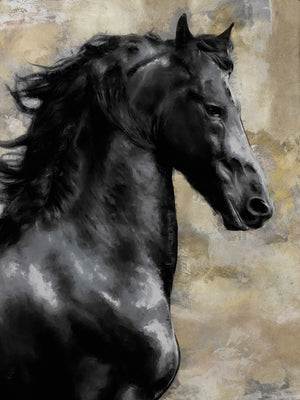 Bucephalus Canvas Art