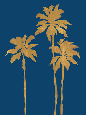 Palm Luxe Trio Canvas Art