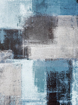 Abstract Blue III Canvas Prints