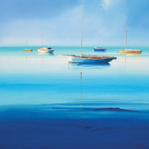 Blue Couta Canvas Prints