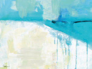 Coastal Blues 1 Canvas Art