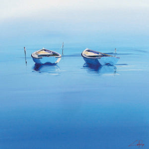 Late Moorings Canvas Art