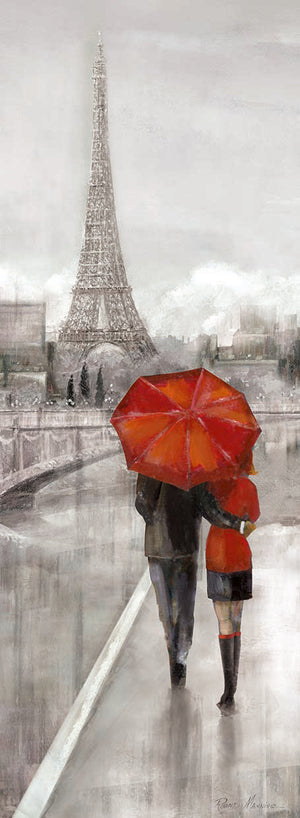 Paris Stroll Canvas Art