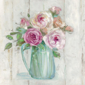 Cottage Sweet Bouquet I Canvas Art