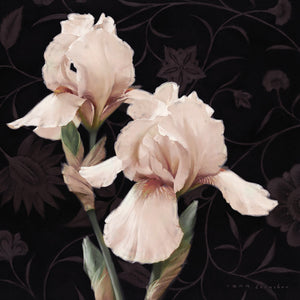 Iris Elegante Canvas Art