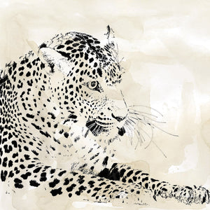 Leopard Spot I Canvas Art