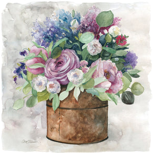 My English Garden Canvas Art