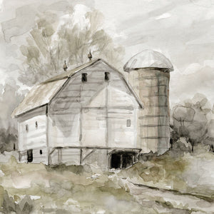 Neutral Silo Canvas Art