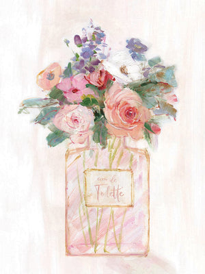 Perfume Bouquet II Canvas Art