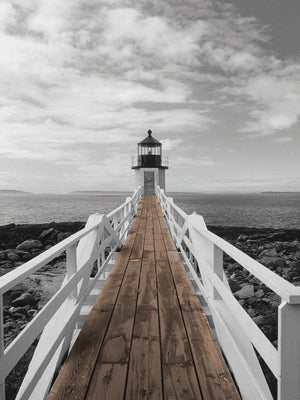 Port Clyde Lighthouse Canvas Art