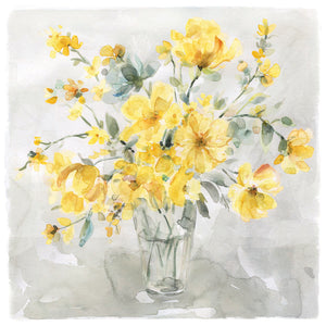 Sunshine Bouquet Canvas Art