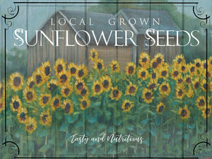 Sunflower Seeds Canvas Art