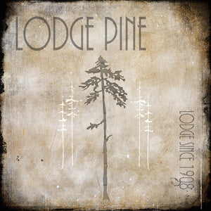 Moose Lodge 2 - Lodge Pole 3 Canvas Art