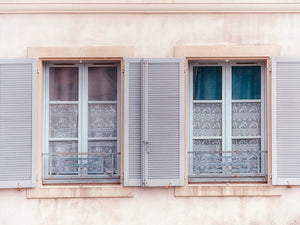French Windows II Canvas Art