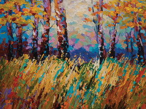 Abstract Autumn Canvas Art