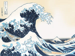 Hokusai-The Great Wave