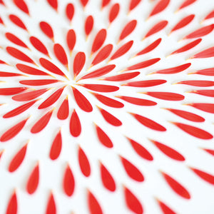 Red Petals 02 Canvas Art