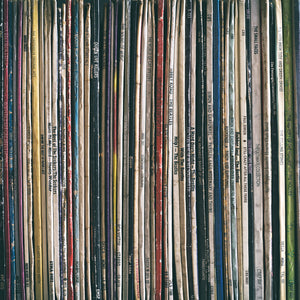 Vinyl Collection A Canvas Art