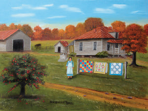 Grandma's Quilts 2 Canvas Art