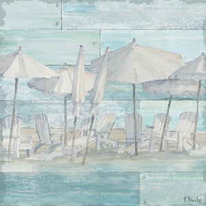 Linen Beach II Canvas Art