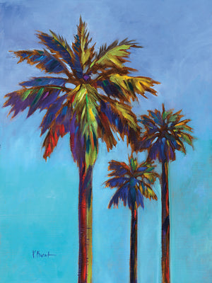 Santa Rita Palm I Canvas Art