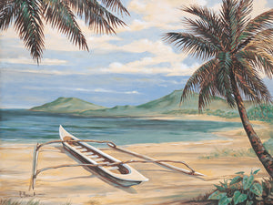 Outrigger Cove Canvas Art