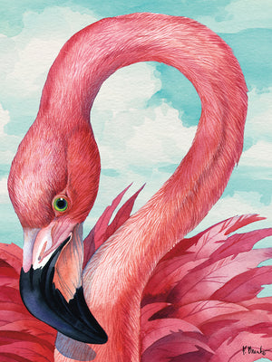Fab Flamingo Canvas Art