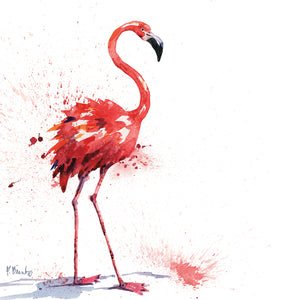 Arianna Flamingo I Canvas Art