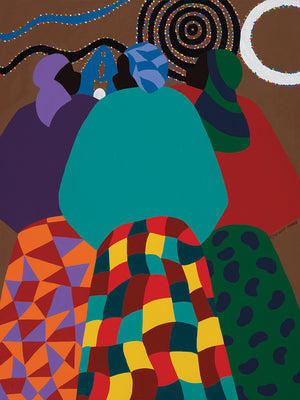 Nigerian Woman Canvas Art