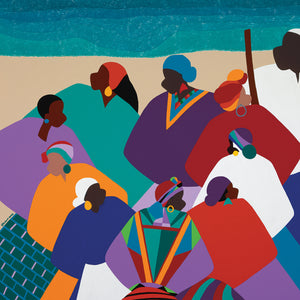 Ring Shout Gullah Islands Canvas Art