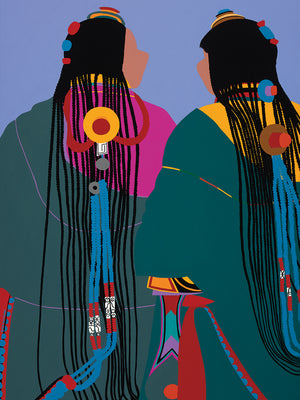 Tibetan Women Canvas Prints