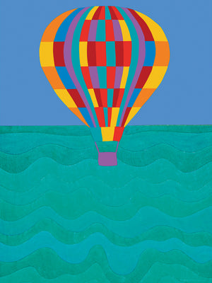 Up Up & Away  Canvas Prints