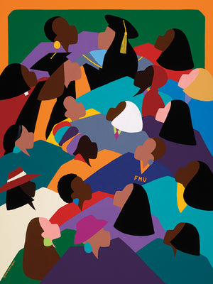 Women Lifting Their Voices Canvas Art
