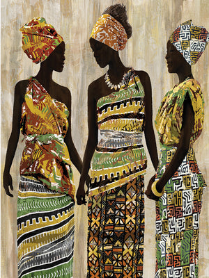 African Beauties Canvas Art