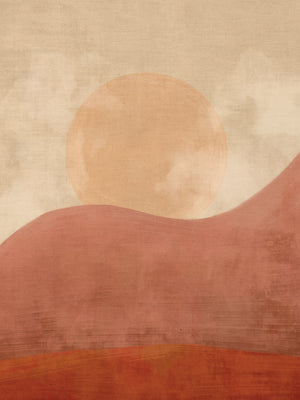 Desert Sunset Canvas Prints