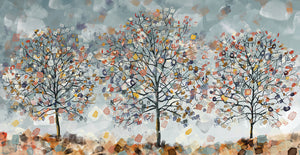 Tre Alberi Canvas Art