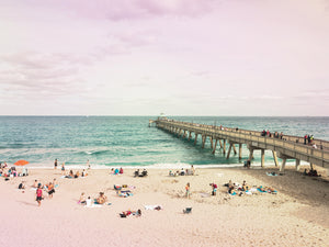 Deerfield Beach Canvas Art