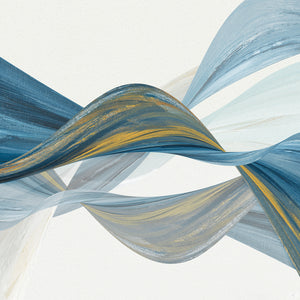 Changing Currents I Canvas Art