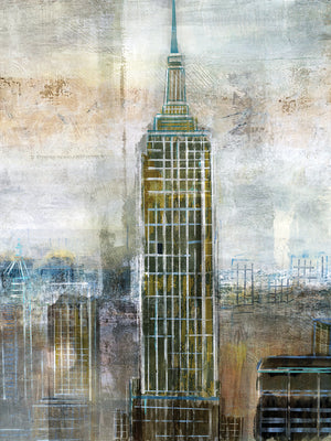 City Constrast Canvas Prints