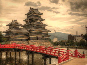 Matsumoto Castle Canvas Art